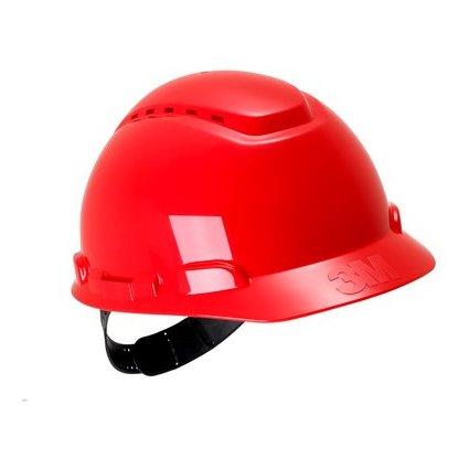3M Industrie-Schutzhelm H700, Größe: 54-62 cm, rot