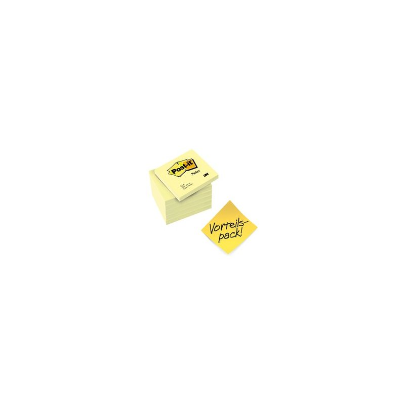 gelb Haftnotizen 4046719274406 76 x 76 mm 12+12 GRATIS Post-it 654P24
