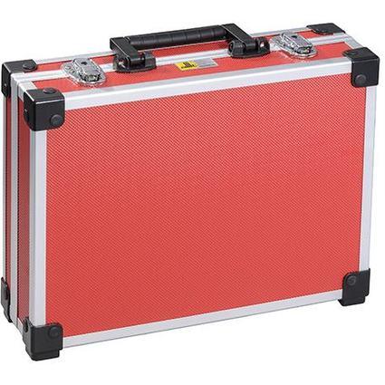 """allit Utensilien-Koffer """"AluPlus Basic"""", Größe: L, rot"""