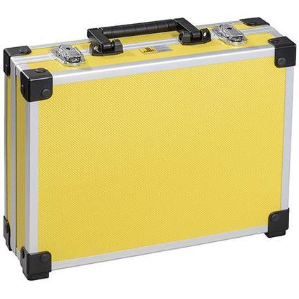 "allit Utensilien-Koffer ""AluPlus Basic"", Größe: L, gelb"