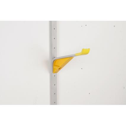 """allit Universalhalter """"StorePlus Flex A"""", groß, gelb / grau"""