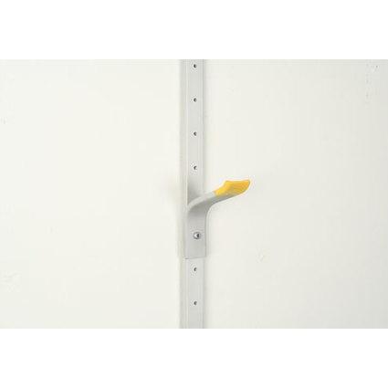 """allit Universalhalter """"StorePlus Flex A"""", klein, gelb / grau"""