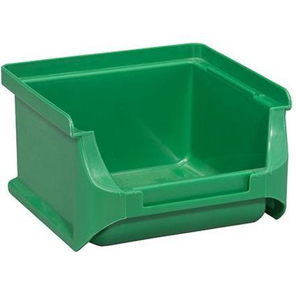 allit Sichtlagerkasten ProfiPlus Box 1, aus PP, grün