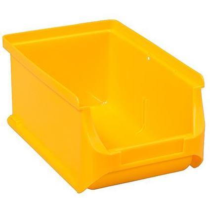 allit Sichtlagerkasten ProfiPlus Box 2, aus PP, gelb