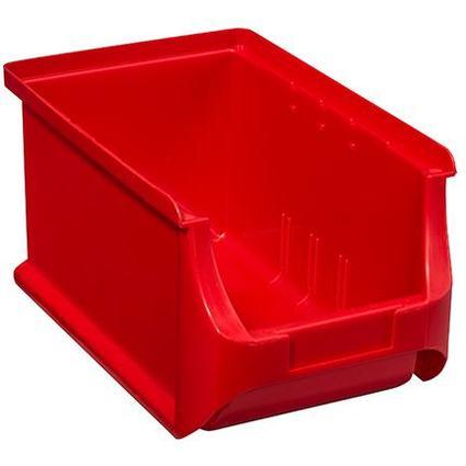allit Sichtlagerkasten ProfiPlus Box 3, aus PP, rot
