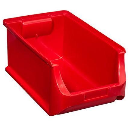 allit Sichtlagerkasten ProfiPlus Box 4, aus PP, rot