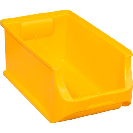 allit Sichtlagerkasten ProfiPlus Box 4, aus PP, gelb