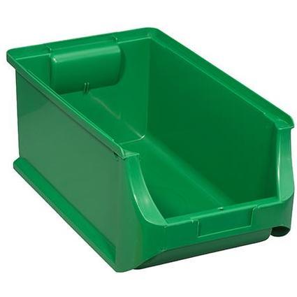 allit Sichtlagerkasten ProfiPlus Box 4, aus PP, grün