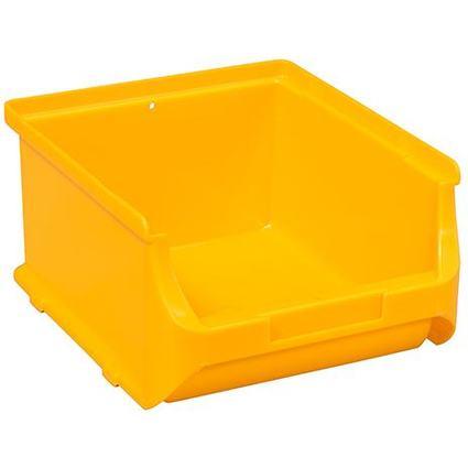 allit Sichtlagerkasten ProfiPlus Box 2B, aus PP, gelb