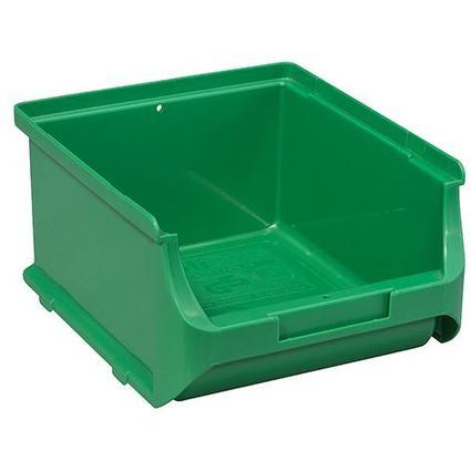 allit Sichtlagerkasten ProfiPlus Box 2B, aus PP, grün