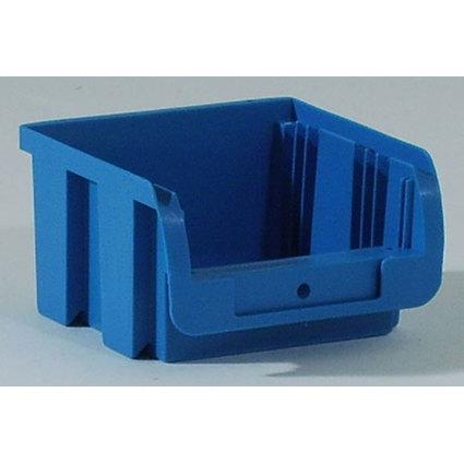allit Sichtlagerkasten ProfiPlus Compact 1, aus PP, blau