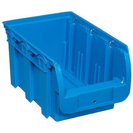 allit Sichtlagerkasten ProfiPlus Compact 3, aus PP, blau