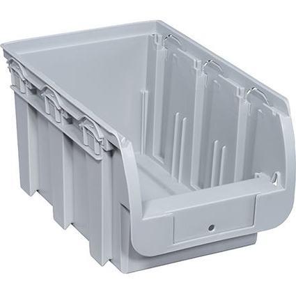 allit Sichtlagerkasten ProfiPlus Compact 3, aus PP, grau