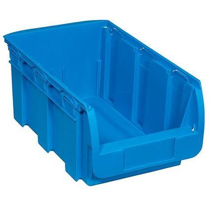 allit Sichtlagerkasten ProfiPlus Compact 4, aus PP, blau