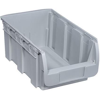 allit Sichtlagerkasten ProfiPlus Compact 4, aus PP, grau