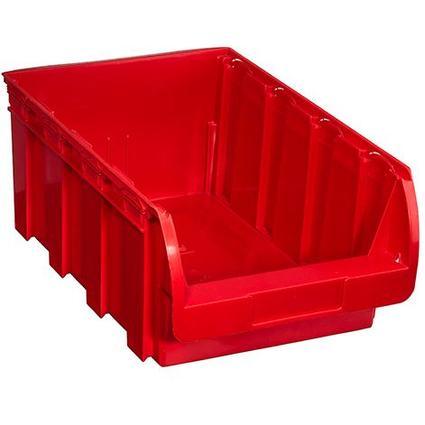 allit Sichtlagerkasten ProfiPlus Compact 5, aus PP, rot
